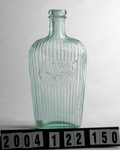 "GII-33 ""ribbed"" flask"